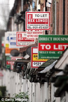 Buy to let market swamped by tenants