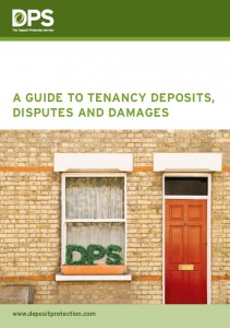 Guide to Tenancy Deposit front cover