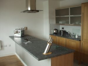 Student house kitchen