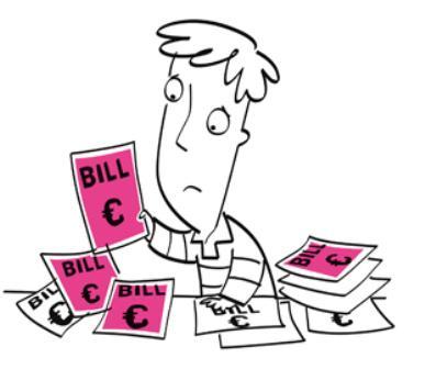 Simple solution to bills-inclusive burden