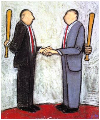 Negotiating with estate agents