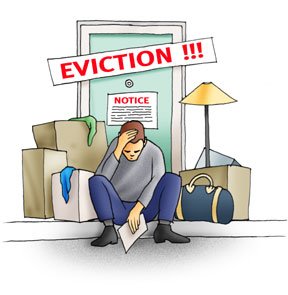 Help needed to evict a problem lodger