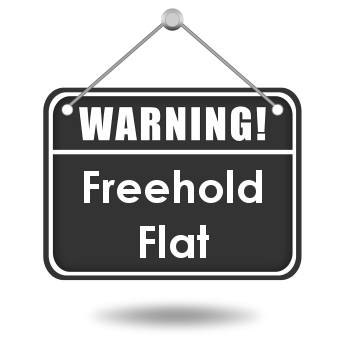 Freehold Maisonette – why is this a bad thing?