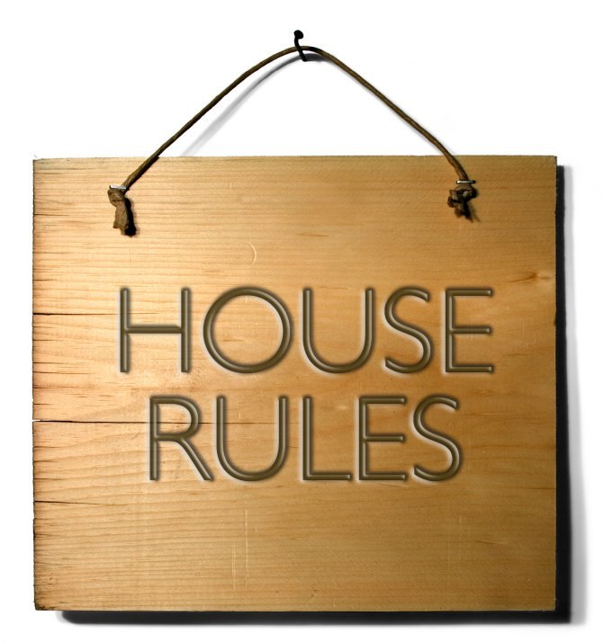 House Rules & Promotional Opportunities