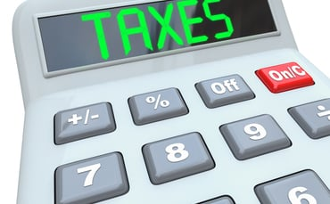 Deed of trust property company tax question