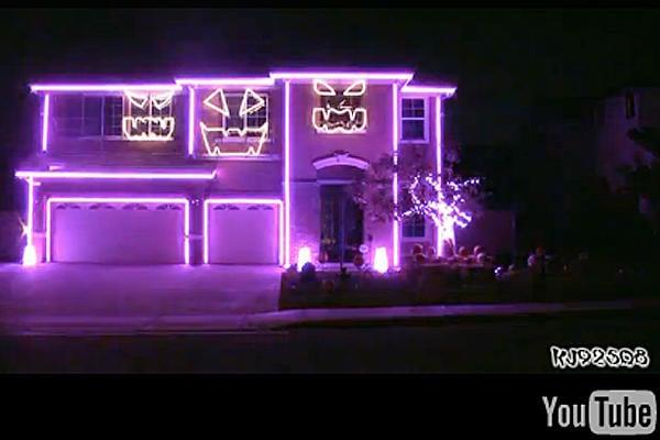 Amazing Halloween House Video 2013