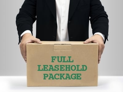 Are leaseholds worth no value at the end of lease