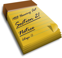 Serving S21 when you have not given tenants right paperwork upfront