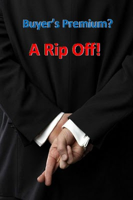 Buyers Premium Rip-Off At Property Aution