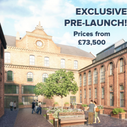 Grade II Listed Manchester Apartment Conversion from £73,500 and 9.5% yield