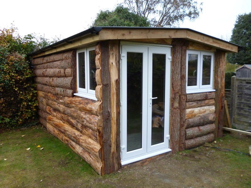 Can I let a log cabin in my garden?