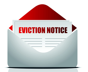 Evicting tenants just to break a contract with a letting agent