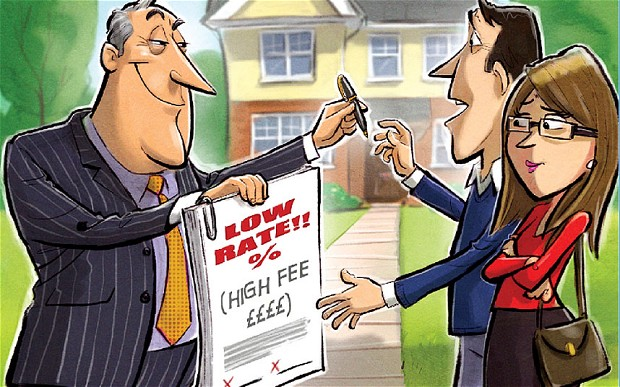 Are mortgage arrangement fees off-settable against tax?