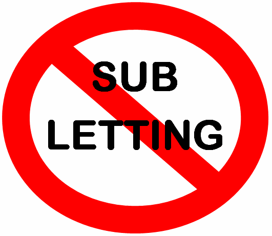 Tenant wanting to sub-let