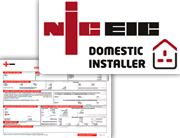 Issue of electrical installation certificate + part P notification