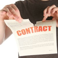 Letting agency breaking contract early