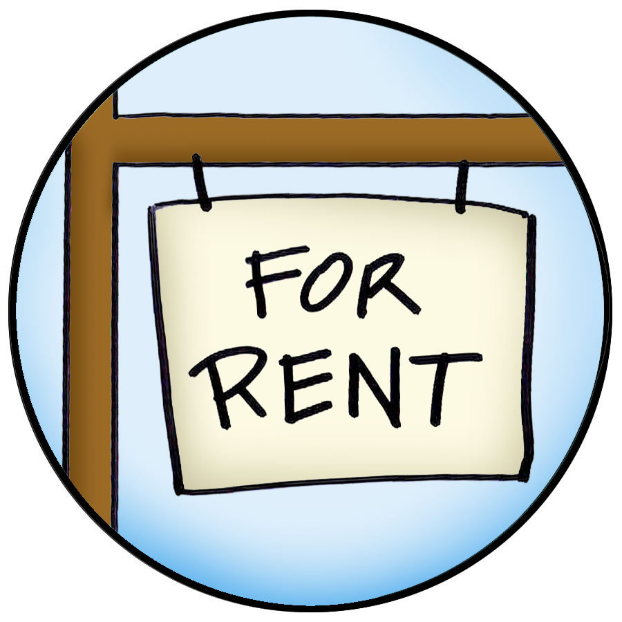 Renting rooms within a house or renting the whole house itself