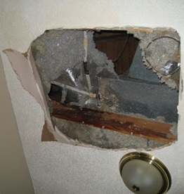 Water damage liability