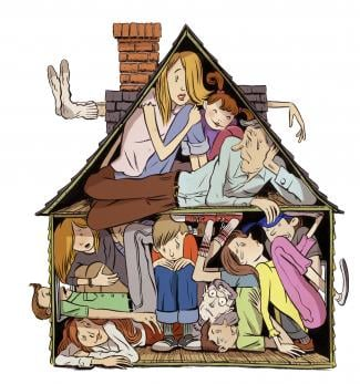 Over-crowding issue – Tenant Has 3 Kids In One Room