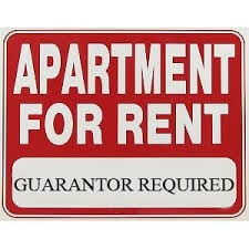 Landlord asked to be a Guarantor has reservations