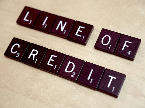 Commercial line of credit