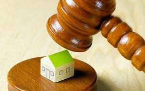 Tenant arrears on property bought at auction