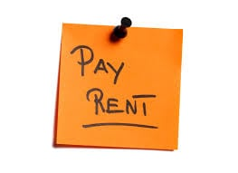 What charges can be counted as rent?