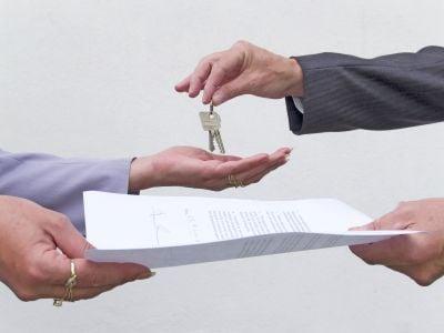 Tenant not handing back keys