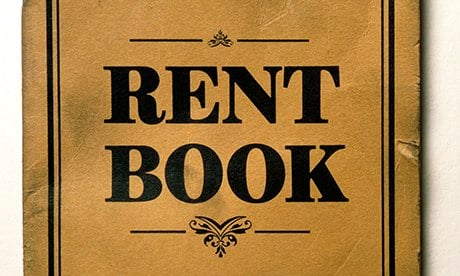 Electronic weekly rent book
