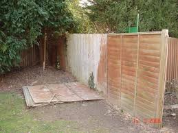 Landlord boundary fence