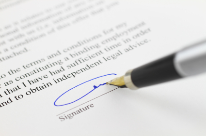 Do all tenants have to sign the same tenancy agreement?