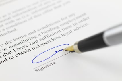 Do all tenants have to sign the same tenancy agreement