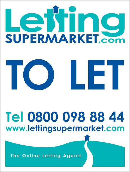 LettingSupermarket sign