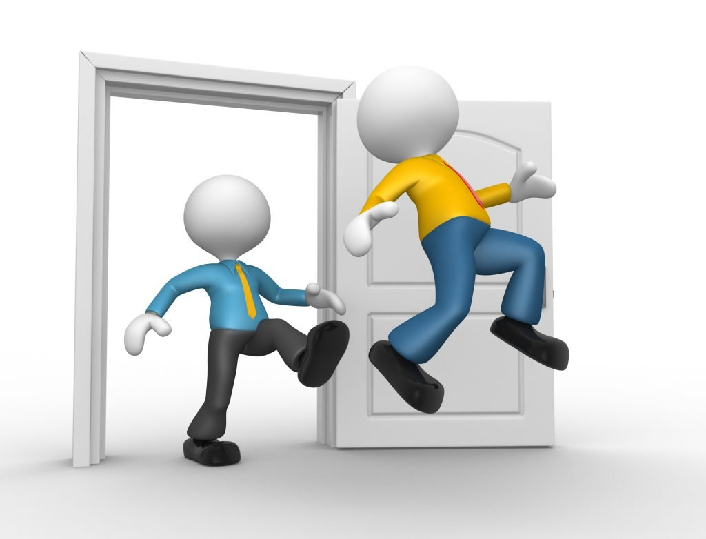 What is the eviction process for company let?