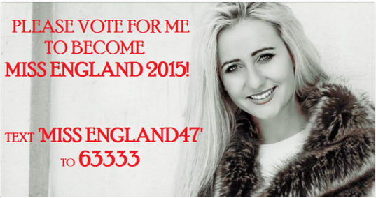 Let's Help This Property Girl Win Miss England