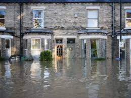 Responsibilities for a flooded property occupied by a tenant?