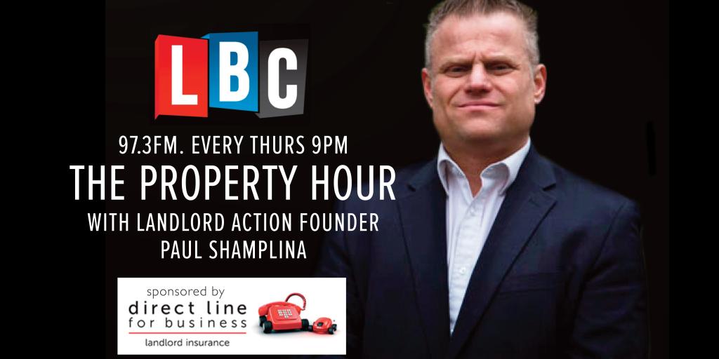 Paul Shamplina is co-hosting a new radio show 'The Property Hour'