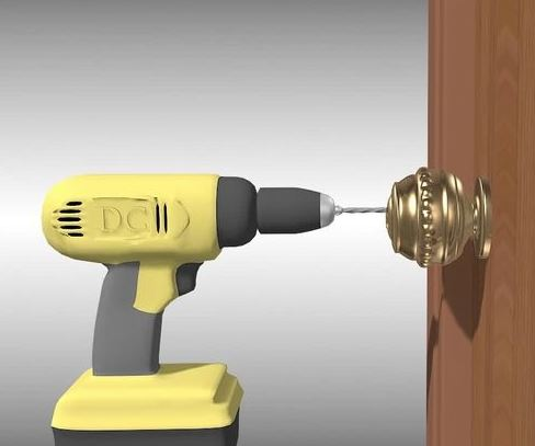 drilled lock