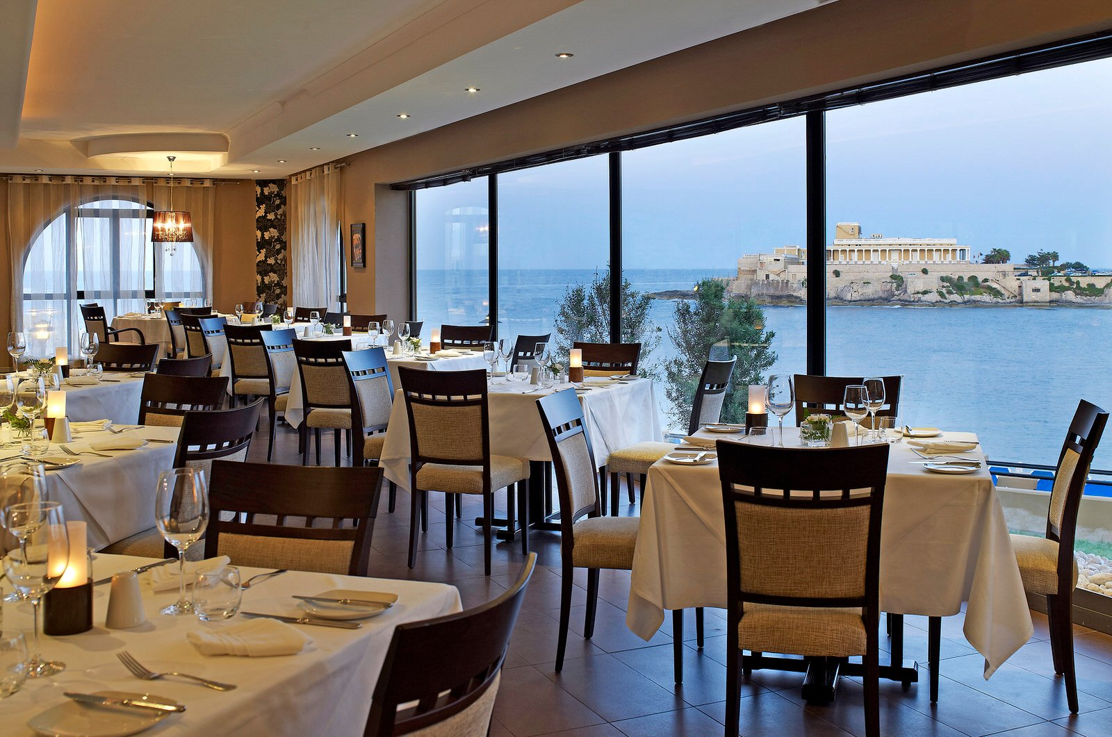 Caviar & Bull in St Georges Bay - one of Malta's leading fine dining experiences. Owned and operated by Chef Marvin, one of Malta's top celebrity Chefs