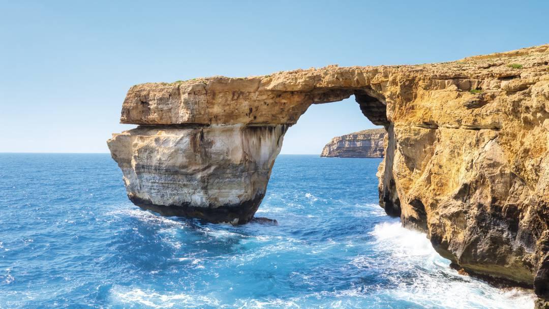 The Azure Windo in Gozo