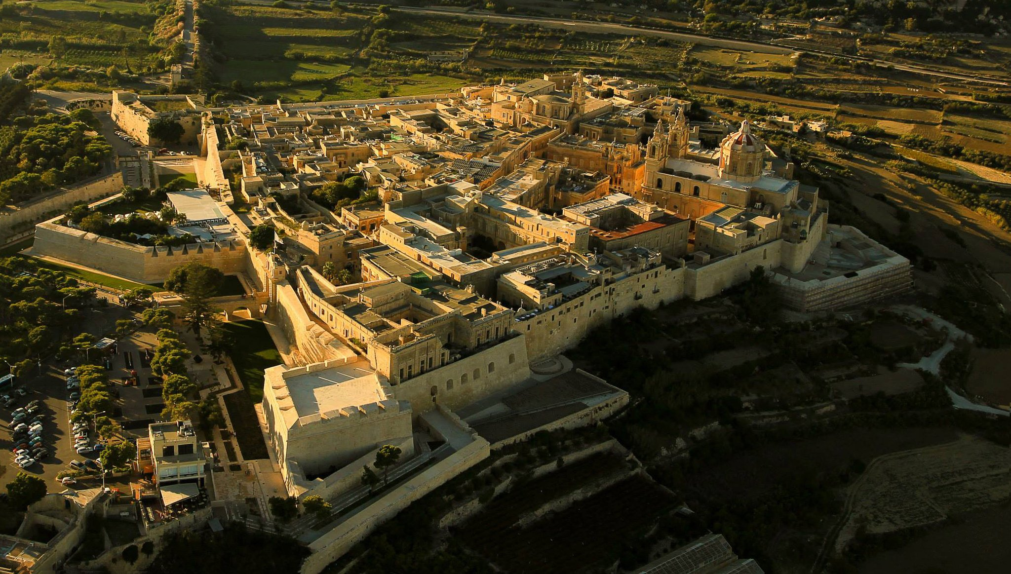 The Ancient Walled City of Mdina, as featured in the TV series Game of Thrones