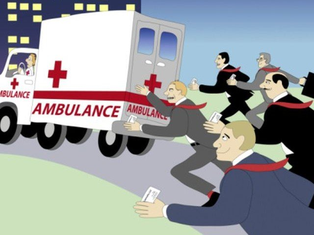 The Ambulance Chasers Will Not Stay Parked For Much Longer
