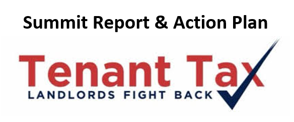 #TenantTax Summit Report and Action Plan