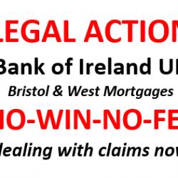Bank of Ireland Legal Action – NO-WIN-NO-FEE