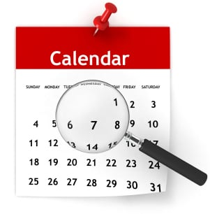 How to interpret one clear calendar month's notice?
