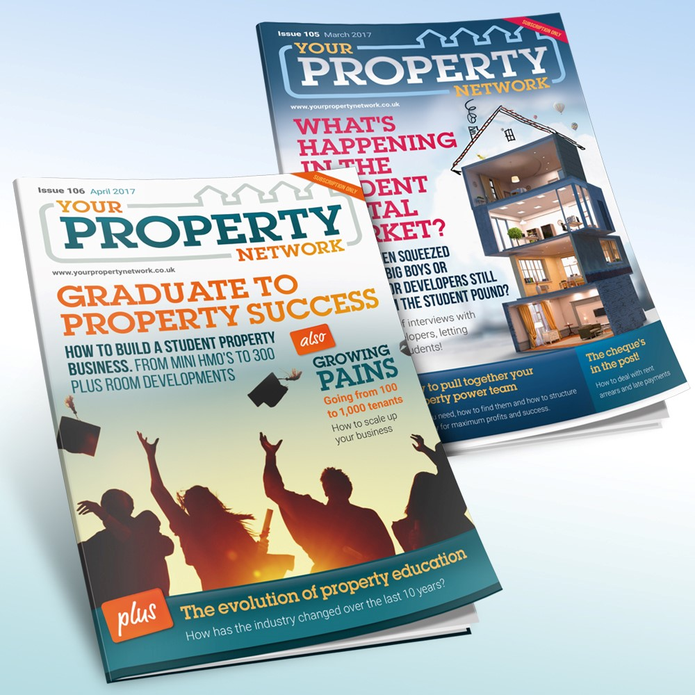 Get your hands on your FREE copy of the UK's leading magazine for active property people!