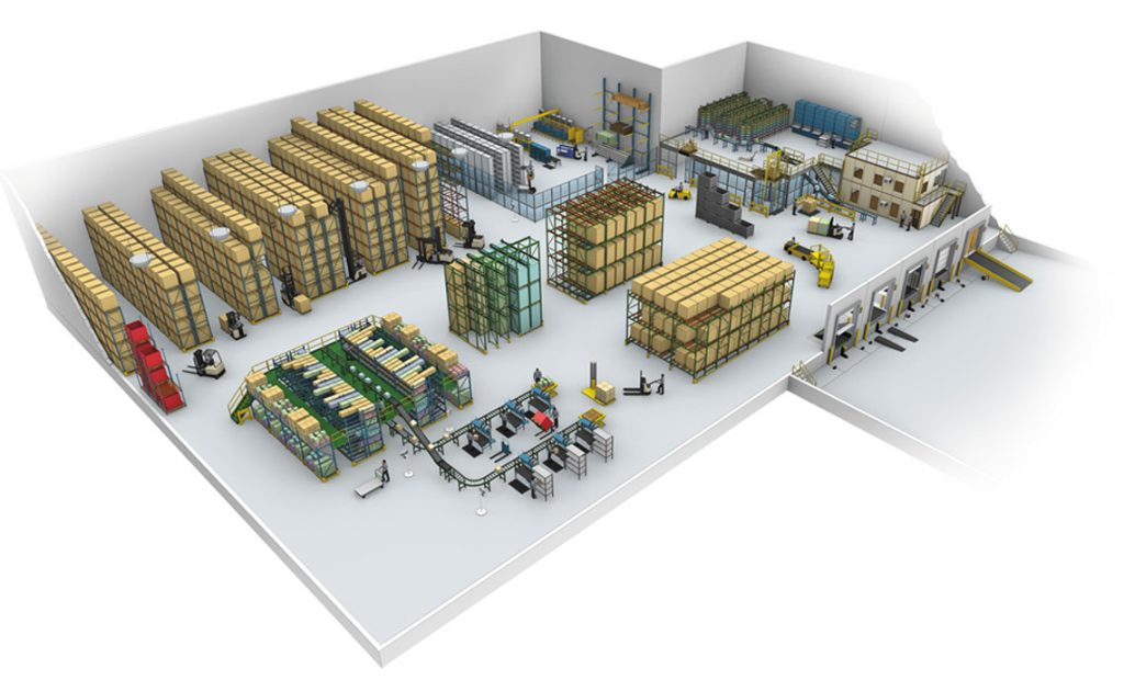 How do I rent an industrial warehouse?