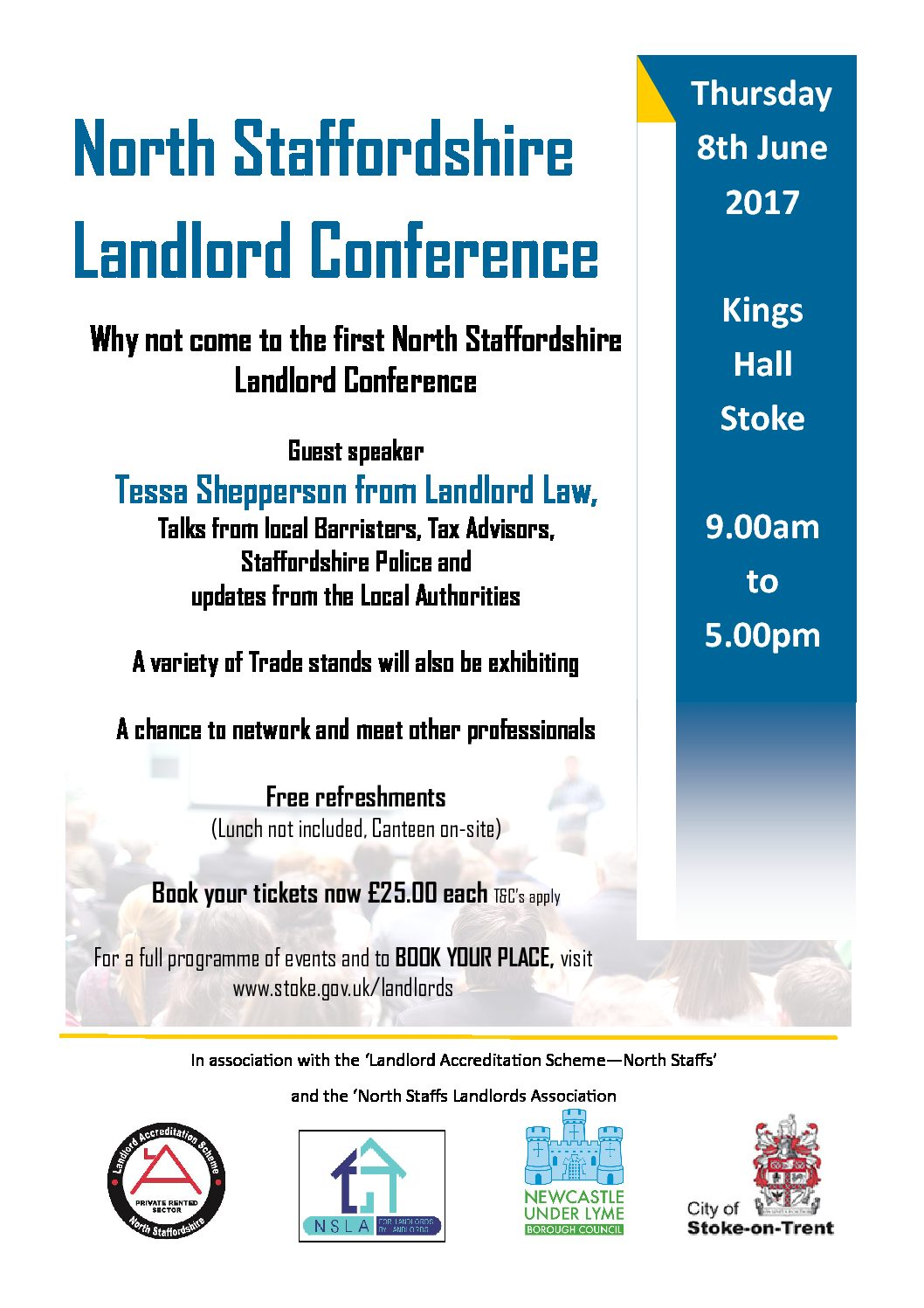 North Staffordshire Landlord Conference 2017