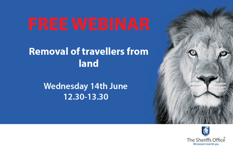 Free webinar on the removal of travellers from land