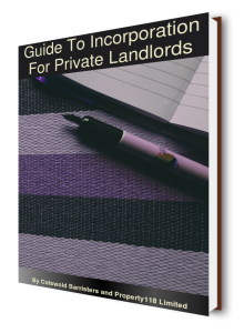 Guide To Incorporation For Private Landlords